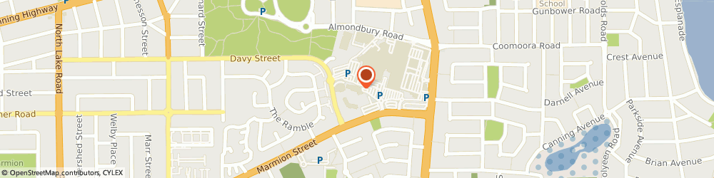 Route/map/directions to The Orthodontists, 6154 Booragoon, Andrea Lane