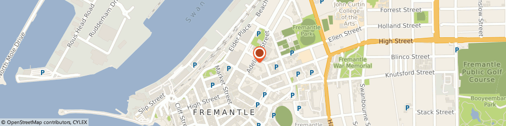 Route/map/directions to Fair & Square Removals - Perth, 6160 Fremantle, 710/23 Adelaide St