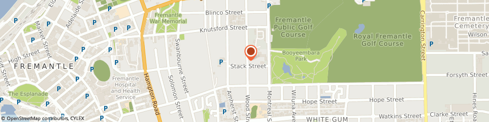 Route/map/directions to Reliance Removals, 6160 Fremantle, 10 Stack St