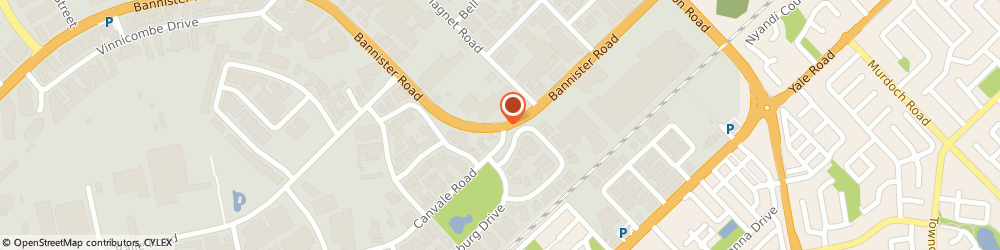 Route/map/directions to Caltex, 6155 Canning Vale, 60 Bannister Rd Cnr Canvale Rd