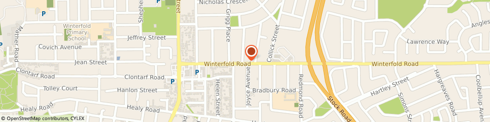 Route/map/directions to Dr Gareth Calvert Chiropractor, 6163 Hilton, 36 Winterfold Road