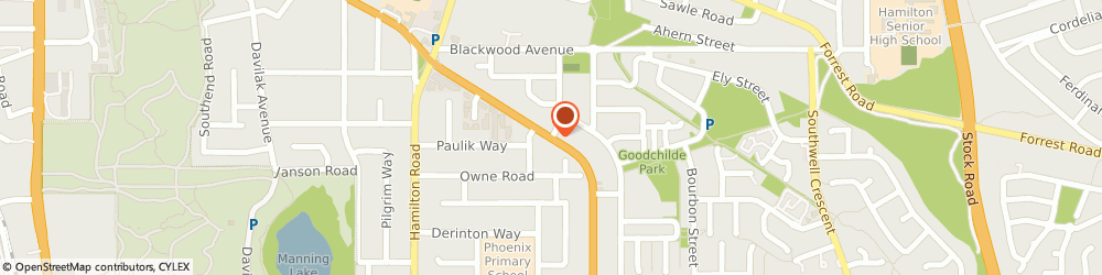 Route/map/directions to Wellspring Chiropractic, 6163 Hamilton Hill, 156 Rockingham Rd