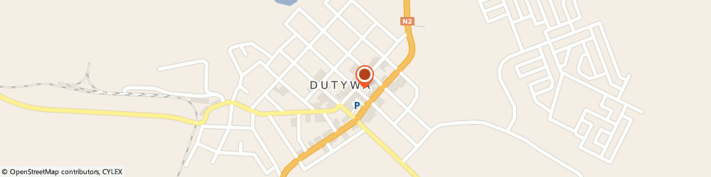 Route/map/directions to Idutywa Pharmacy, 5000 Dutywa, 146 Richardson Rd