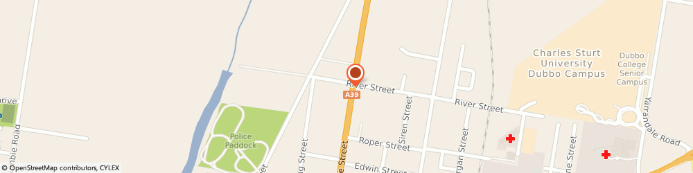 Route/map/directions to Boral Building and Construction Materials Furneys Crt, 2830 Dubbo, 1 Bourke Street