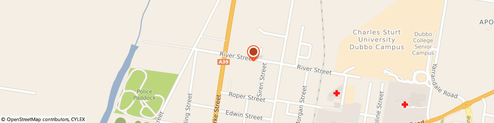Route/map/directions to Boral Roofing Dubbo, 2830 Dubbo, 69 River Street