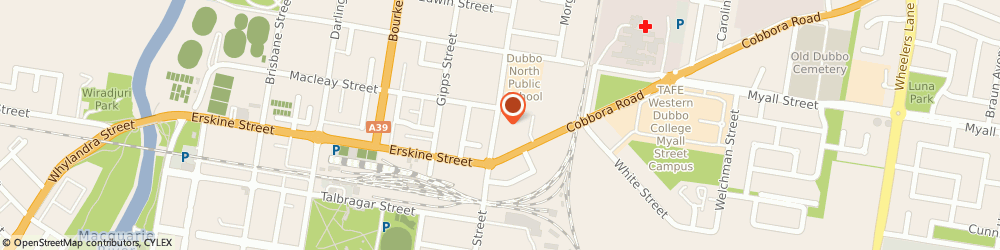 Route/map/directions to MM Electrical Merchandising MMEM DUBBO, 2830 Dubbo, 166 Fitzroy Street