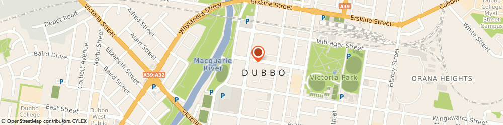 Route/map/directions to Jewellery Brokers, 2830 Dubbo, 124 Macquarie Street