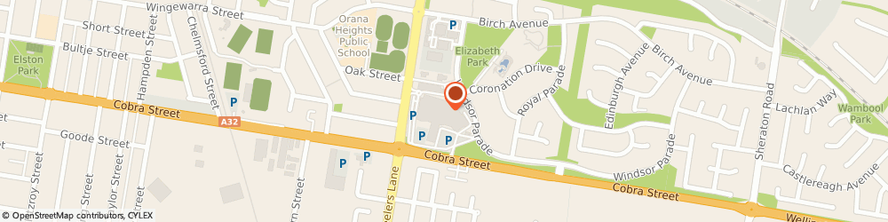 Route/map/directions to Sunglass Hut, 2830 Dubbo, 154 Macquarie St