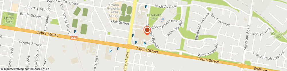 Route/map/directions to TYPO, 2830 Dubbo, Orana Mall Marketplace