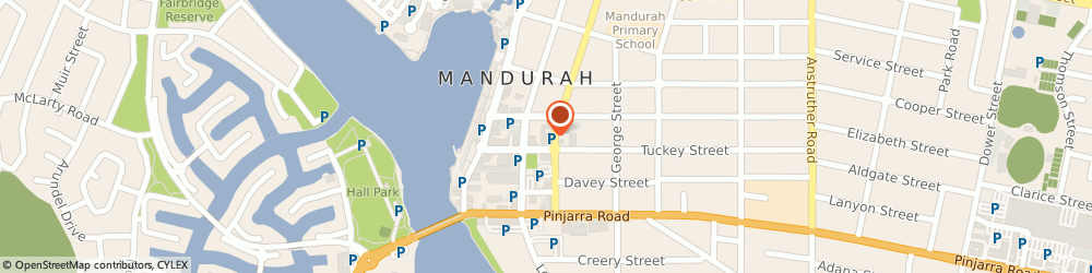 Route/map/directions to Waterways Conveyancing, 6210 Mandurah, Unit 4, 16 Sutton Square