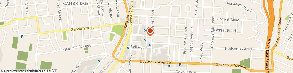 Route/map/directions to Legend Insurance Brokers, 5247 East London, 8 Balfour Road