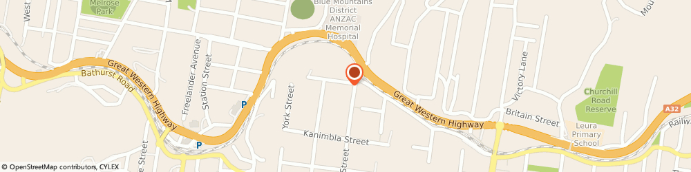 Route/map/directions to Advanced Auto Care, 2780 Katoomba, Unit 3/88;Govett Street