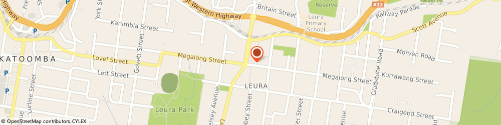 Route/map/directions to The Candy Store, 2780 Leura, Shop 6, 178 The Leura Mall