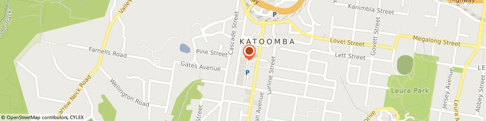 Route/map/directions to Target Country - Katoomba, 2780 Katoomba, 42-50 Parke Street