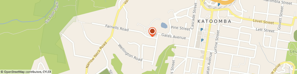 Route/map/directions to Apsara Day Spa Katoomba, 2780 Katoomba, 40 Catalina Ave