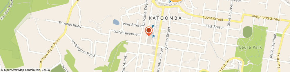 Route/map/directions to Skin Cancer Clinic Katoomba, 2780 Katoomba, 71 Parke St