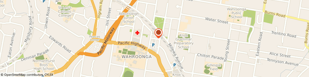 Route/map/directions to UVS Group, 2076 Wahroonga, 18 Railway Ave