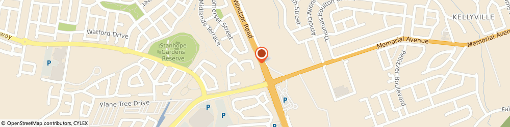 Route/map/directions to CJ Tech Support, 2768 Stanhope Gardens, 21 Meldon Place