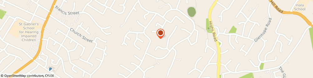Route/map/directions to Castle Hill Aged Care Home, 2154 Castle Hill, 42-46 Darcey Road