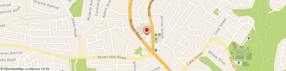Route/map/directions to Pearl Nails Baulkham Hills, 2153 Baulkham Hills, SHP 12/ 1 OLIVE ST