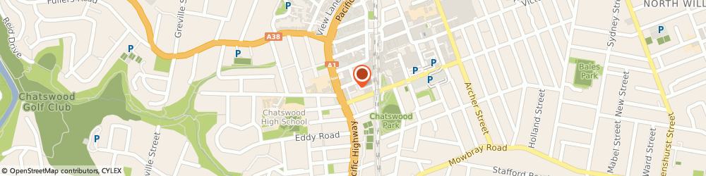 Route/map/directions to Baz Martha Dr Occupational Physician, 2067 Chatswood, 7/22 THOMAS STREET