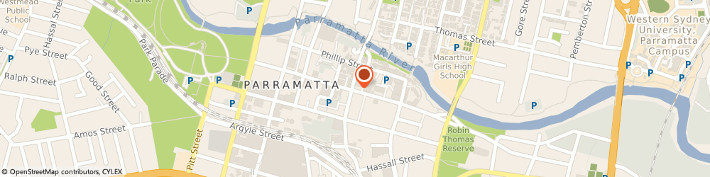 Route/map/directions to NAFDA Pty Ltd, 2150 Parramatta, Level 2; 100 George Street