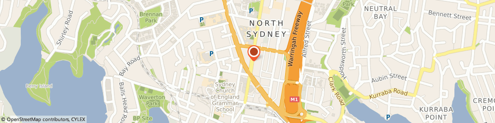 Route/map/directions to Beepo Outsourcing, 2060 North Sydney, Level 40, 100 Miller Street