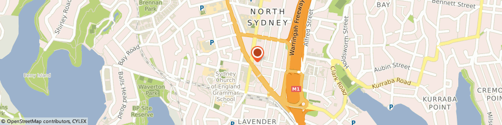 Route/map/directions to Civic Park, 2060 North Sydney, 220 Miller St