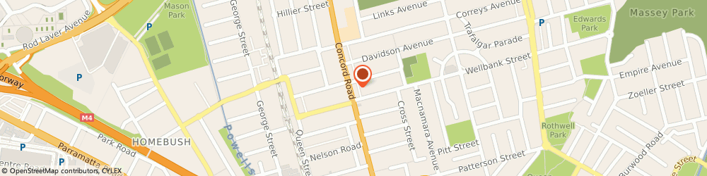 Route/map/directions to Pizza Hut North Strathfield, 2137 North Strathfield, 175 Concord Rd