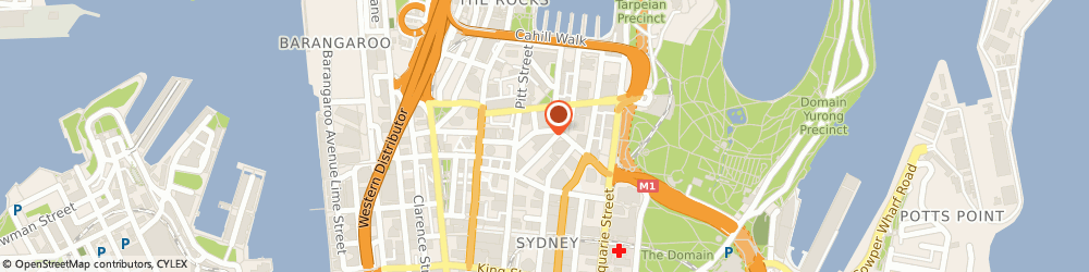 Route/map/directions to Michel's Patisserie, 2000 Sydney, Shop F7 The Wintergarden 1 O'connell St