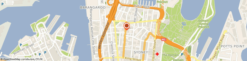 Route/map/directions to National Australia Bank - Metcentre - NAB ATM, 2000 Sydney, 273 George Street
