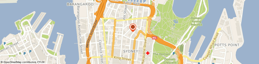 Route/map/directions to Inventory Finance Australia, 2000 Sydney, 25 Bligh Street