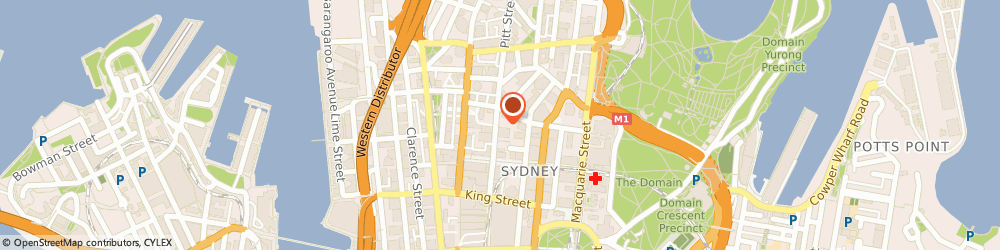 Route/map/directions to Fabricoz, 2000 Sydney, 74 Pitt Street