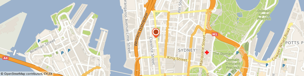 Route/map/directions to Kwik Kopy Clarence Street, 2000 Sydney, Level 3, 64 Clarence Street