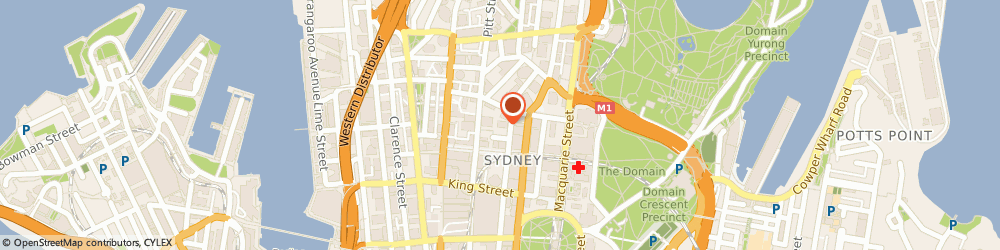 Route/map/directions to 2020 Directinvest, 2000 Sydney, Level 21/ 9 Castlereagh St