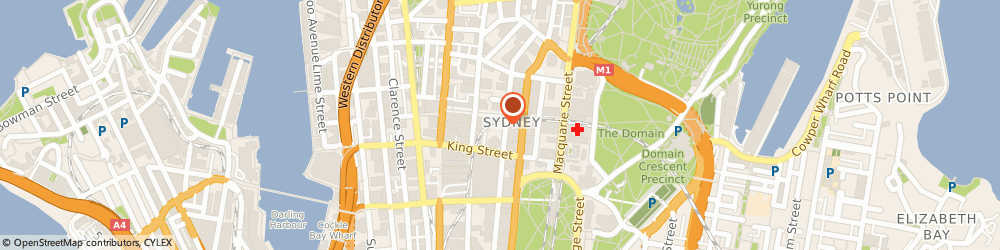 Route/map/directions to Kwm Financial Consultants, 2000 Sydney, Level 57, MLC Centre, 19 - 29 Martin Place