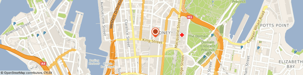 Route/map/directions to OnDeck, 2000 Sydney, 130 Pitt St