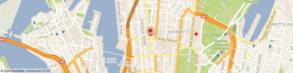 Route/map/directions to City Clinic On King, 2000 Sydney, LEVEL 7, 50 KING STREET