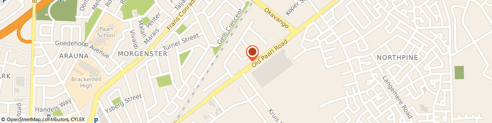 Route/map/directions to Baroque Furniture Manufacturers CC, 7560 Cape Town, 9 Ferrous Crescent