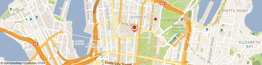 Route/map/directions to RIMOWA, 2000 Sydney, Cnr Pitt St Mall and Market St