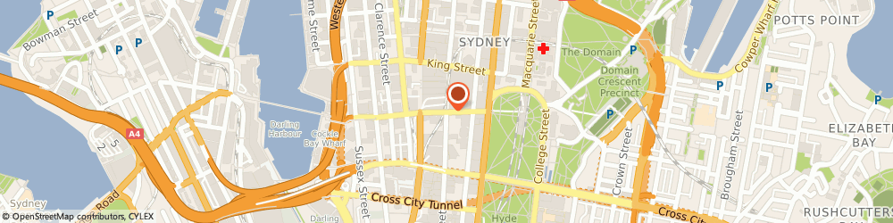 Route/map/directions to Cotton On Body, 2000 Sydney, Cnr Pitt Street Mall and Market