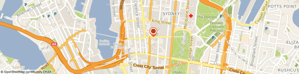 Route/map/directions to CottonOnMegaStore, 2000 Sydney, 46 Cnr George and Market Streets