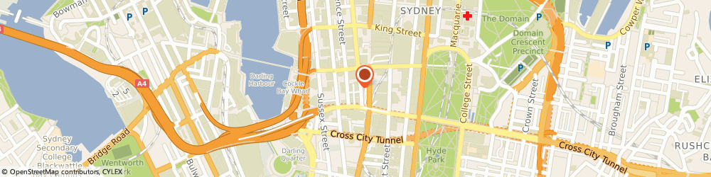 Route/map/directions to Australian Asian Singles, 2000 Sydney, Suite 102, 127 York St.