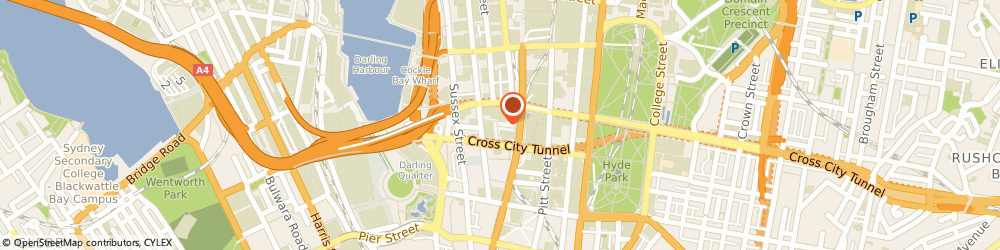 Route/map/directions to National Australia Bank - Town Hall Square - rediATM, 2000 Sydney, 464-480 Kent Street