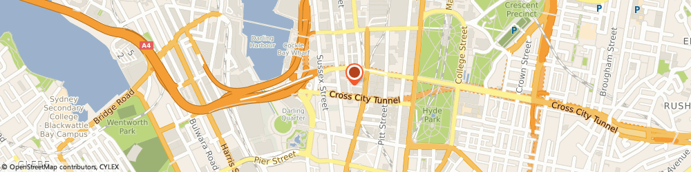 Route/map/directions to ProLaser Cutting, 2000 Sydney, Suite 572 41/464-480 Kent St