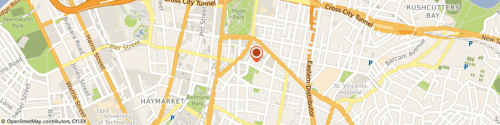 Route/map/directions to LGO Accounting & Taxation Services Pty Ltd, 2010 Surry Hills, 706/160 GOULBURN STREET,