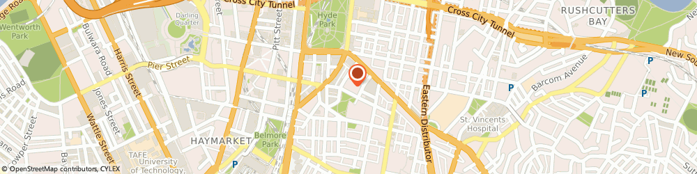 Route/map/directions to Advanced Hair Studio SURRY HILLS, 2010 Surry Hills, 162 Goulburn Street