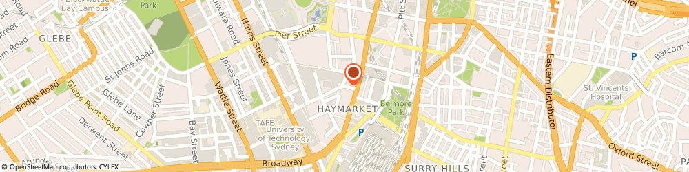 Route/map/directions to Comfort Zone Clinic, 2000 Haymarket, 76 Ultimo Rd