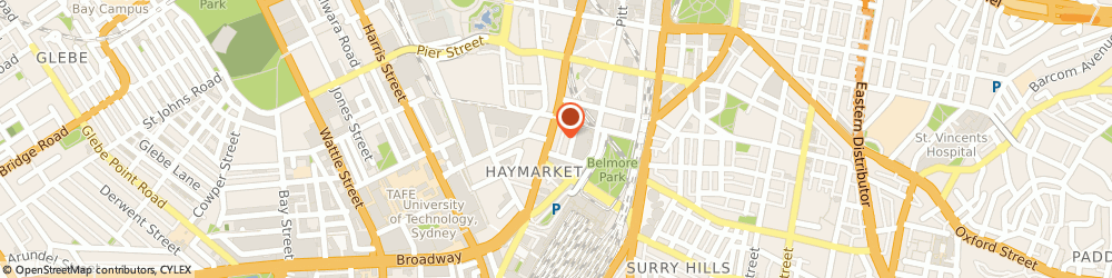 Route/map/directions to SUBWAY Haymarket, 2000 Haymarket, 762 George St