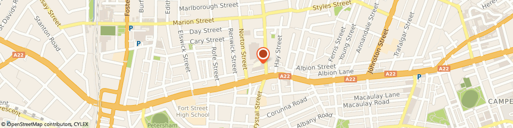 Route/map/directions to the skin and laser clinic sydney, 2040 Leichhardt, 19/23 Norton Street